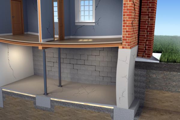 Ce qu'il faut savoir sur les fissures de fondation de maison